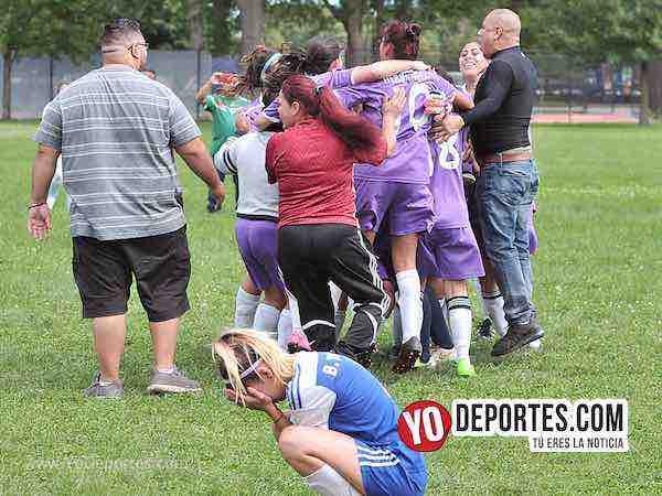 Deportivo Amistad-Cicero Jaguars-Chicago Women Premier definen en penales