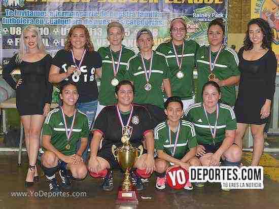 Deportivo Teco invictas y campeonas de la Liga Jalisco