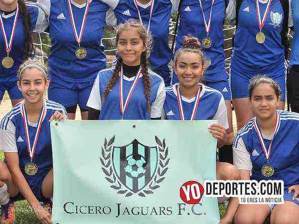 Final femenil Cicero Jaguars-Chicago Women Premier