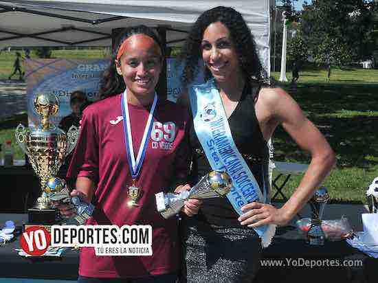 Jackie Vera MVP-CD Vagos-FC Luna-Liga Interamericana
