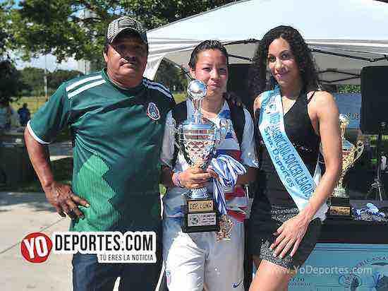 Javier Cazaerez Shannon Williams–FC Luna-Liga Interamericana
