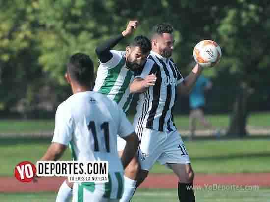 Juventus-Leon-Liga Interamericana-Veteranos futbol Chicago