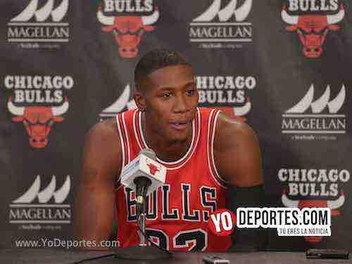 Kris Dunn-Chicago Bulls Media Day
