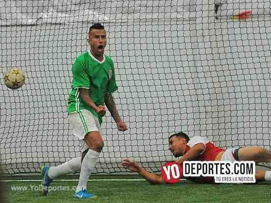 México derrota a Waukegan con tres goles del Negro Sandoval