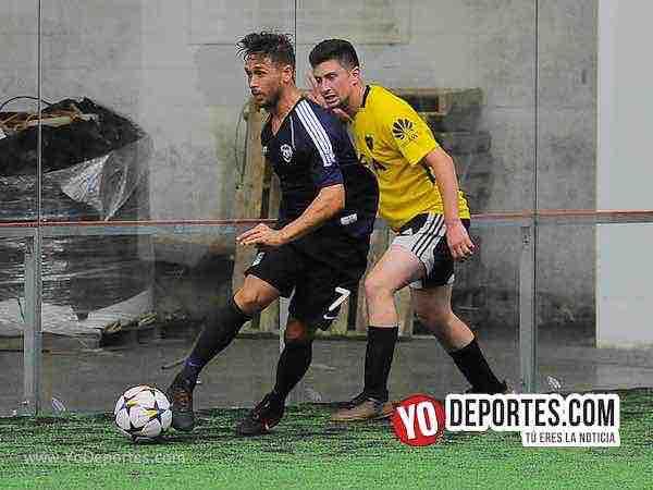 Real Celaya-Boca deja fuera al Jr-Champions de los Martes-Liga San Francisco