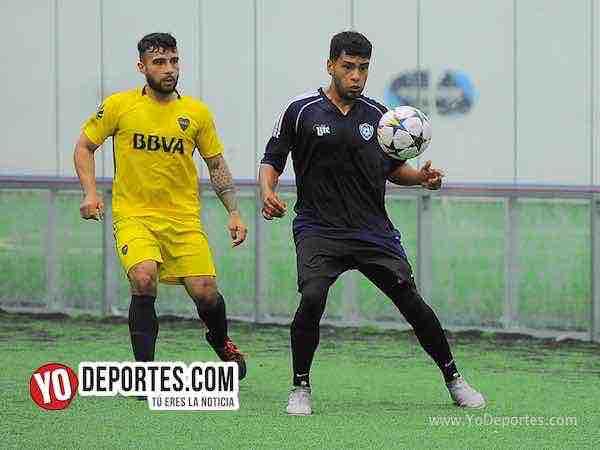 Real Celaya elimina al lider Boca Jr-Champions de los Martes-Liga San Francisco