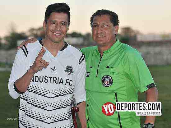 Ricardo Osorio-Arbitro Javier Torres El Chino-Liga Victoria Ejidal