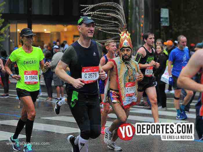 Alberto Ortiz-Chicago Maraton 2018