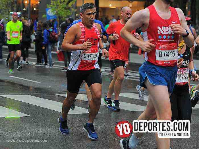 Alejandro Unzueta-Chicago Maraton 2018