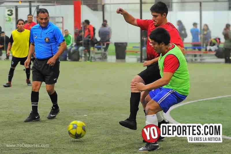 Arbitro Armando Ortega-Callejoneros-Bustos FC-Copa Independencia-Liga 5 de Mayo