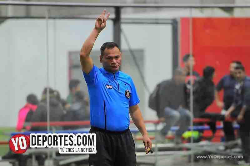 Arbitro Armando Ortega-Deportivo Garcia-Deportivo Michoacan-Copa Independencia-Liga 5 de Mayo