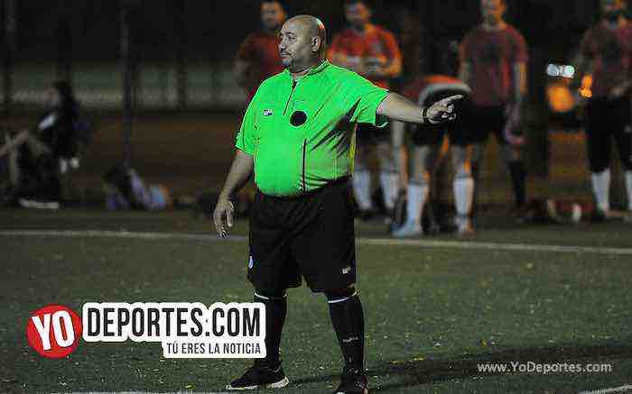 Arbitro Carlos Catracho-Morelia-Arsenal-International Champions Cup