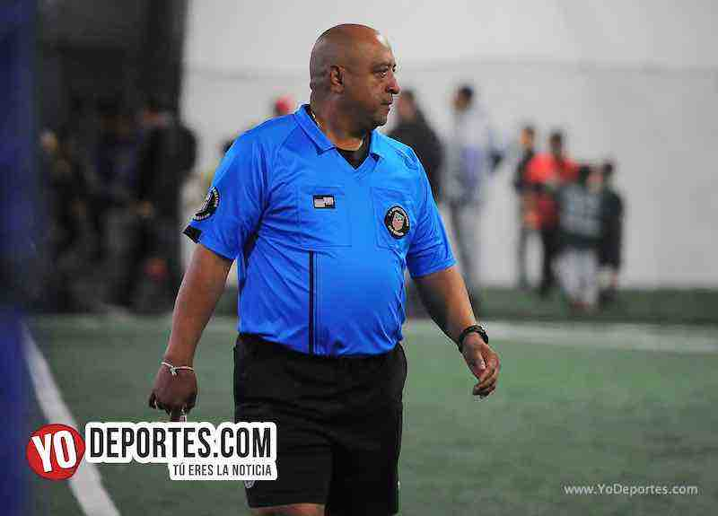 Arbitro Wilson Noriega-Niupi FC-CD Vagos-Liga Interamericana-Chicago Futsal Academy