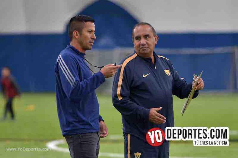 Armando Woody Sanchez-Miguel hernandez-Pumas UNAM-Visorias-Toyota Park