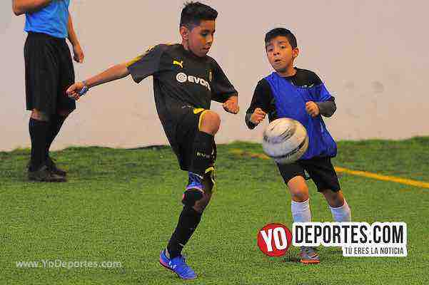 B y V-Los Ardillos-Liga Douglas Futbol Infantil