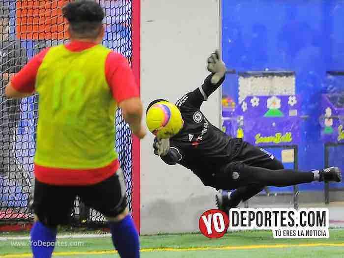 Callejoneros-Aguila Liga 5 de Mayo Copa Independencia Portero Indoor soccer