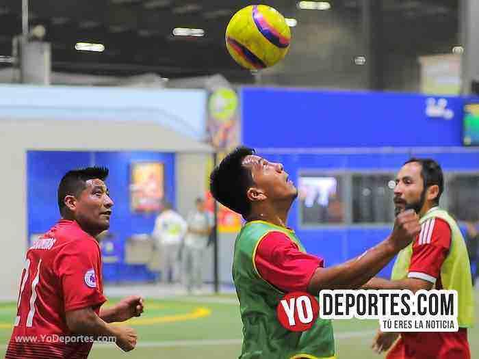 Callejoneros-Aguila-Liga 5 de Mayo-Viernes Copa Independencia en Chicago Indoor Sports