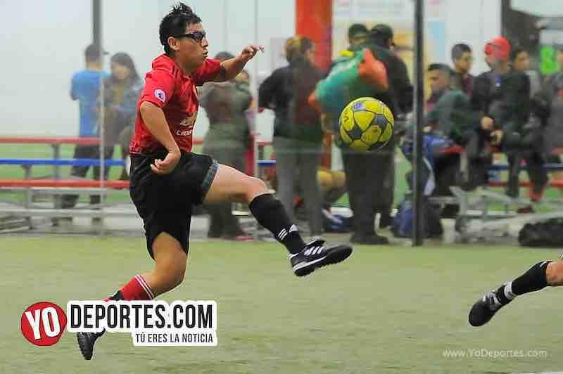 Callejoneros-Bustos FC-Copa Independencia-Liga 5 de Mayo Futbol Indoor en Chicago