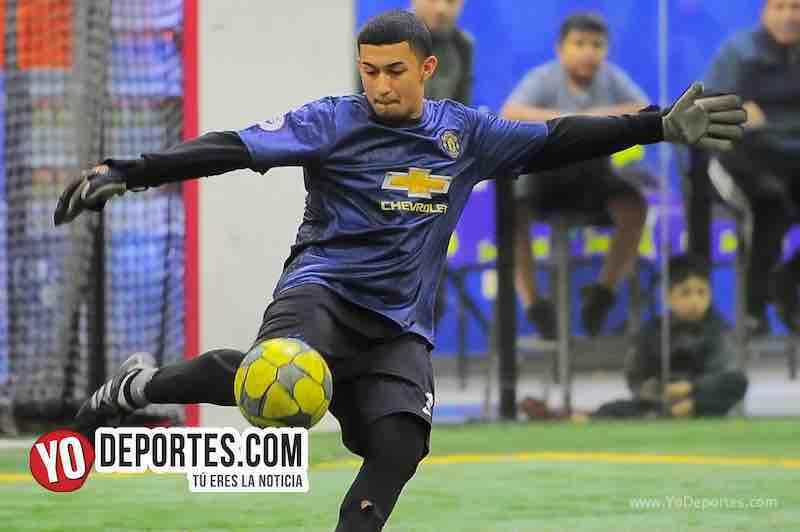 Callejoneros-Bustos FC-Copa Independencia-Liga 5 de Mayo portero indoor soccer
