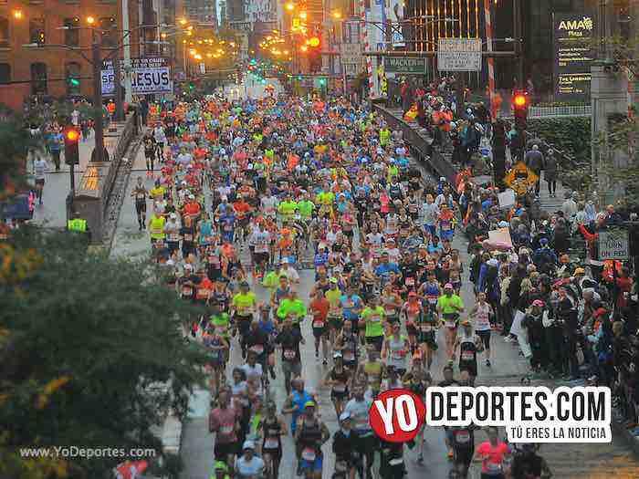 Chicago Maraton-Marathon 2018