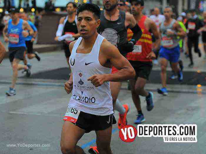 Claudio Loja-Chicago Maraton 2018
