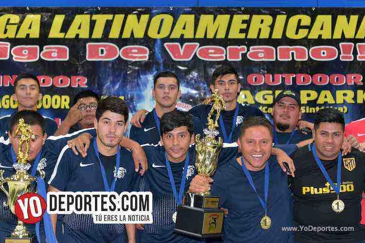 Deportivo Aztecas Campeon-Liga Latinoamericana-Final