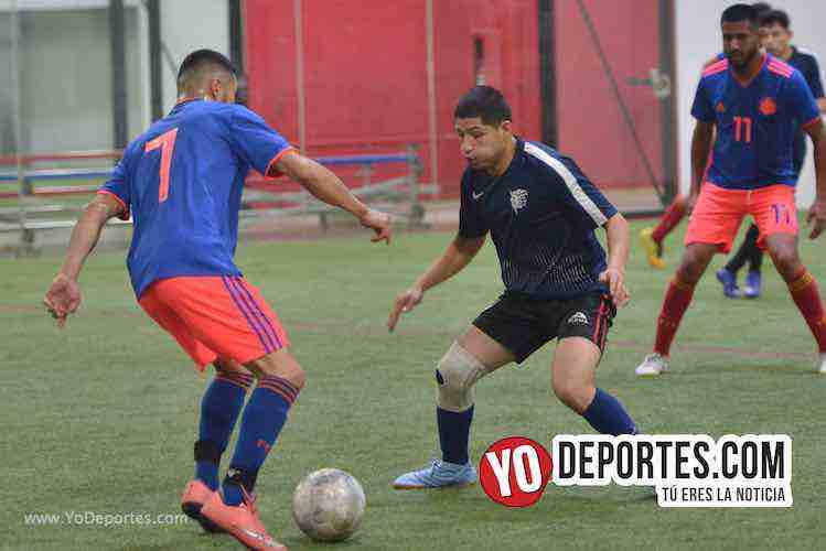 Deportivo Aztecas-Tarantulas-Liga Latinoamericana-Final Martes Indoor soccer