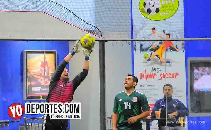 Deportivo Garcia-Deportivo Michoacan-Copa Independencia-Liga 5 de Mayo Indoor soccer