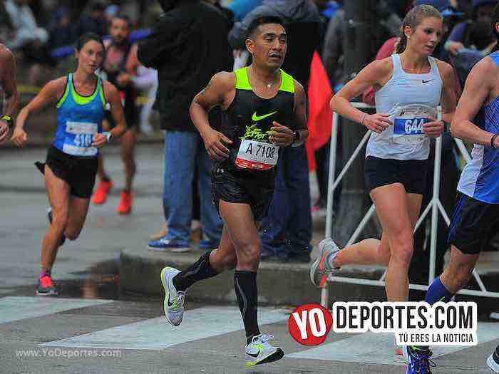 Eleocadio Jimenez-Chicago Maraton-Marathon