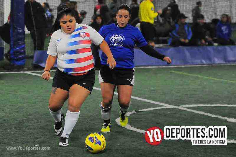 FC Luna-CD Fenix-Liga Interamericana-Chicago Futsal Academy Futbol Femenil