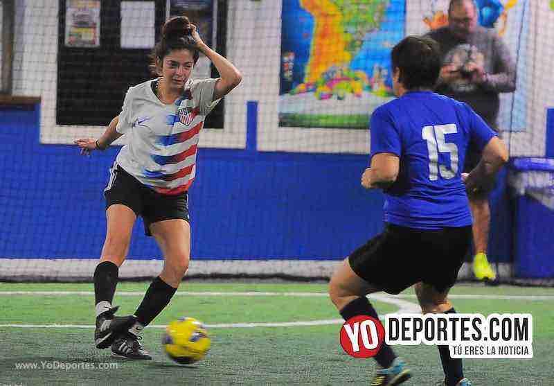FC Luna-CD Fenix-Liga Interamericana-Chicago Futsal Academy Futbol