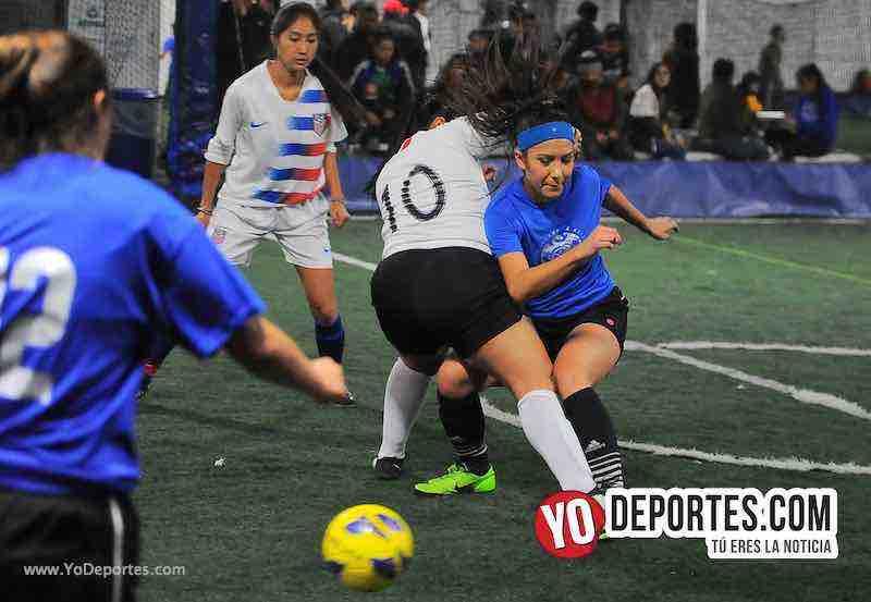 FC Luna-CD Fenix-Liga Interamericana-Chicago Futsal Academy Indoor Soccer