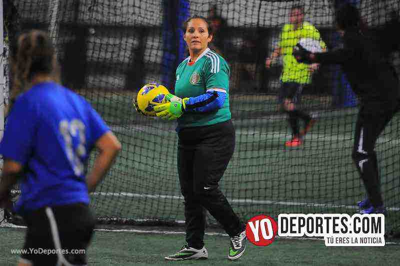 FC Luna-CD Fenix-Liga Interamericana-Chicago Futsal Academy Mujeres Futbolistas