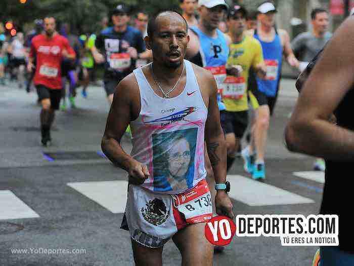 Francisco Guerrero-Chicago Maraton-Marathon