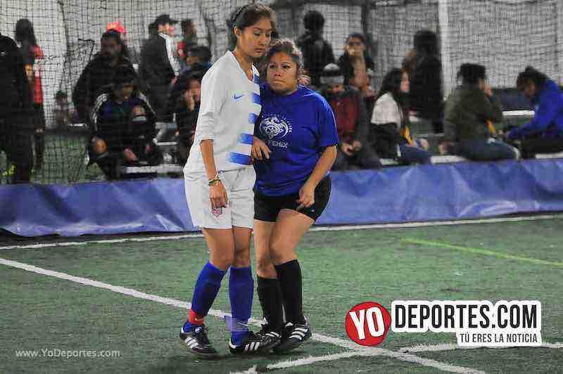 Gloria Sanchez-FC Luna-CD Fenix-Liga Interamericana-Chicago Futsal Academy