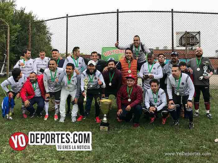 Industria-Campeon-Liga Victoria Ejida Veteranos