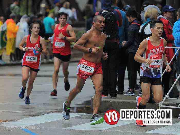 Javier Fuerte-Chicago Maraton-Marathon