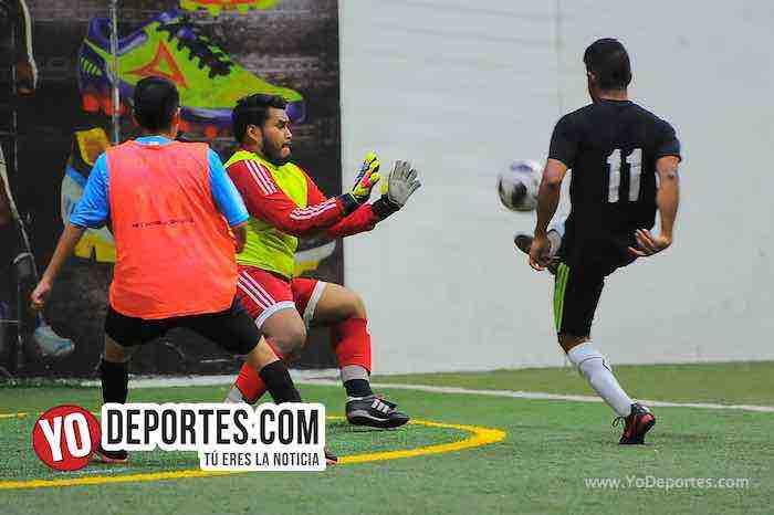 Juventus-Pollo Loco-Liga Latinoamericana-miercoles-semifinal Futbol Chicago