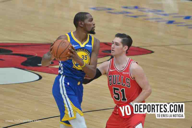Kevin Durant-Ryan Arcidiacono-Chicago Bulls-Golden State Warriors