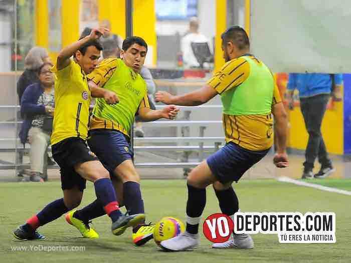 Leones Negros contra Pumas Liga 5 de Mayo Copa Independencia Futbol Indoor