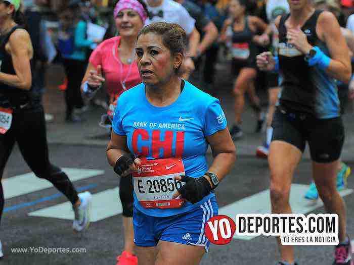 Margarita Morales Gayosso-Chicago Maraton