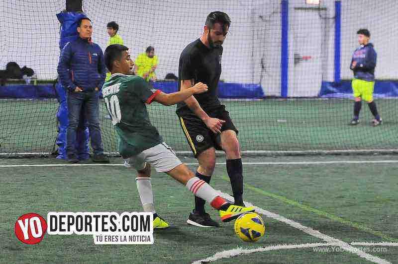 Niupi FC-CD Vagos-Liga Interamericana-Chicago Futsal Academy Lunes Indoor