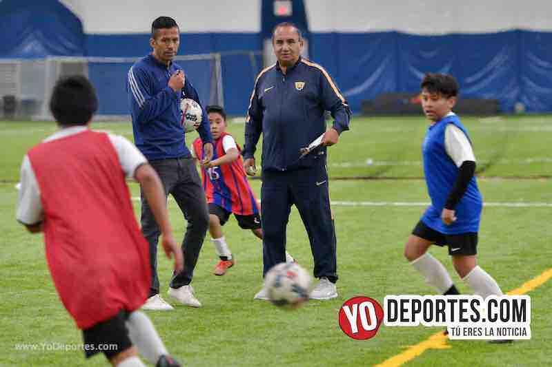 Pumas de la UNAM descubren jugadores en Chicago
