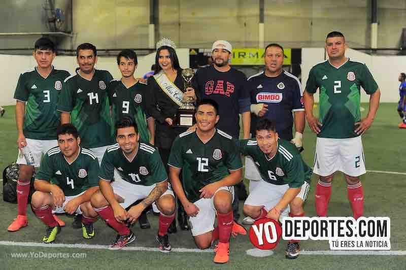 Segundo lugar Deportivo Michoacan-Copa Independencia-Liga 5 de Mayo