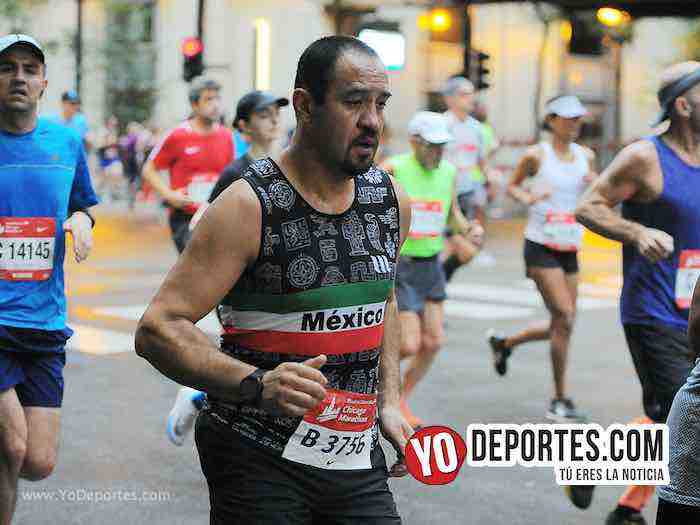 Sergio Fabian Diaz-Chicago Maraton 2018