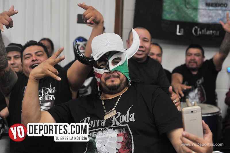 Skayde festeja 30 años de carrera en Chicago Lucha Libre Total Porra Ruda