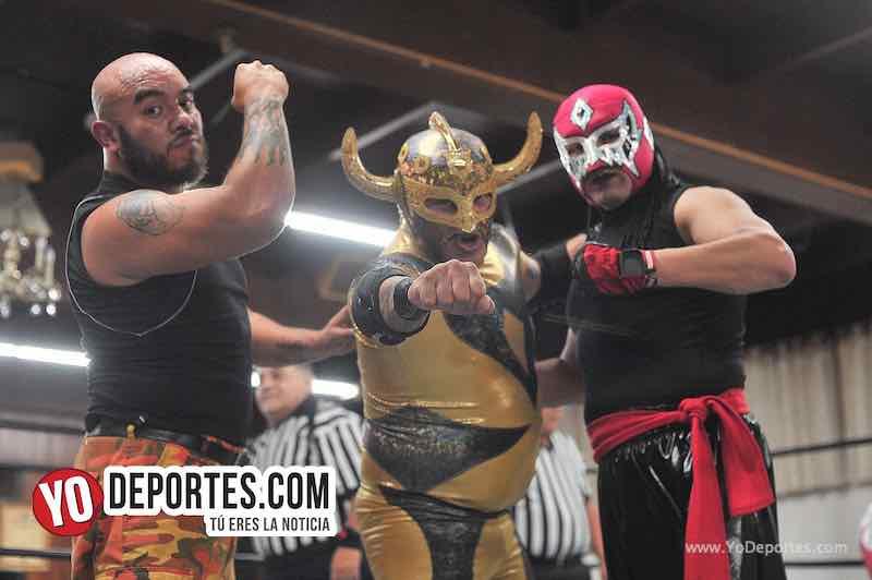 Skayde festeja 30 años de carrera en Chicago Lucha Libre Total-Yakuza