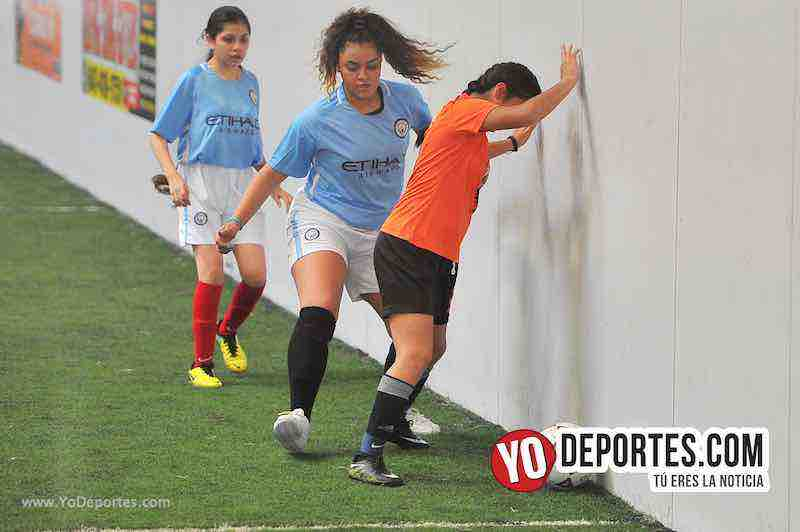 Tigers-Blazers-Chicago Women Premier Futbol Femenil