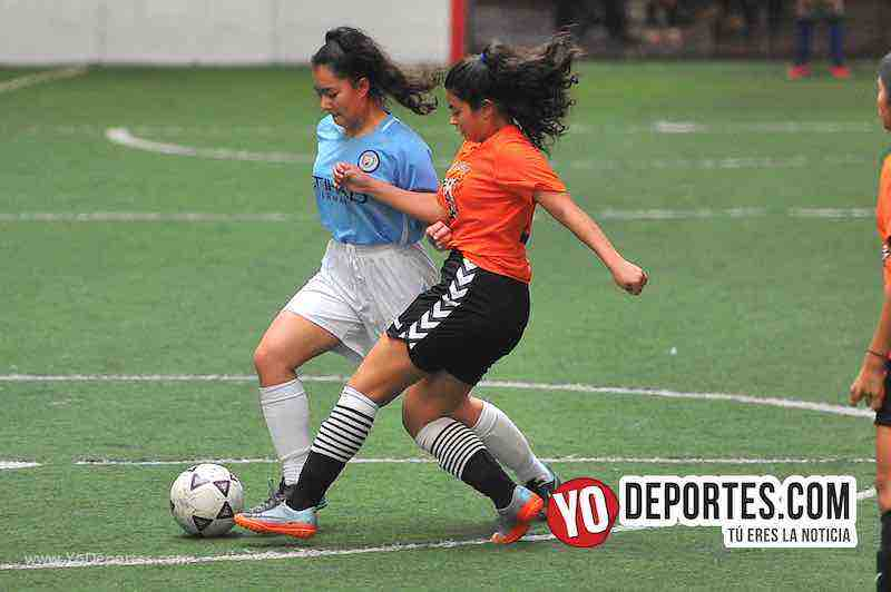 Tigers-Blazers-Chicago Women Premier Futbol Femenino