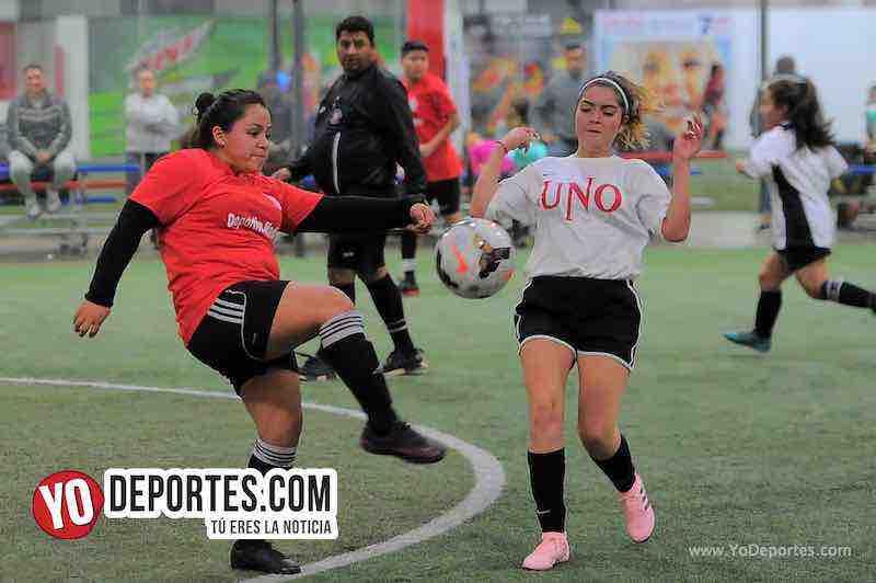 No se hacen daño Deportivo Madrid y Union en AKD Soccer League